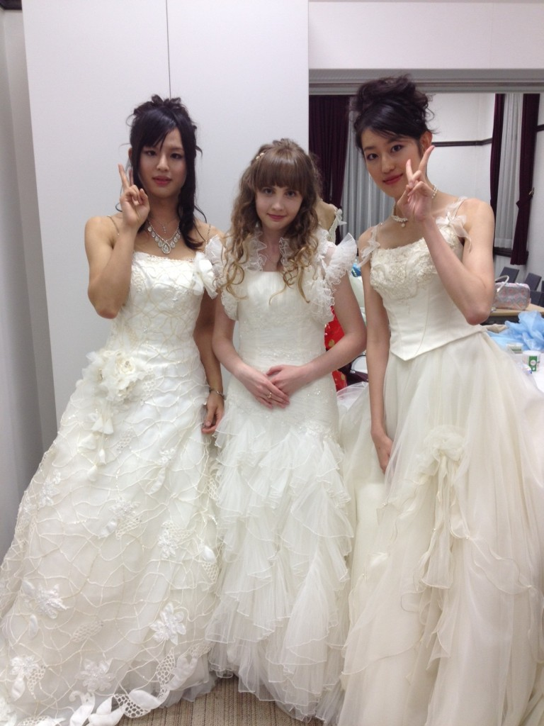 ウエディングドレス!