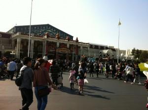 ぶ ディズニー入口